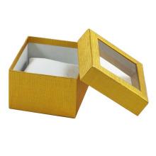 2016 роскошная Коробка вахты бумаги Cuxtom с ясным окном