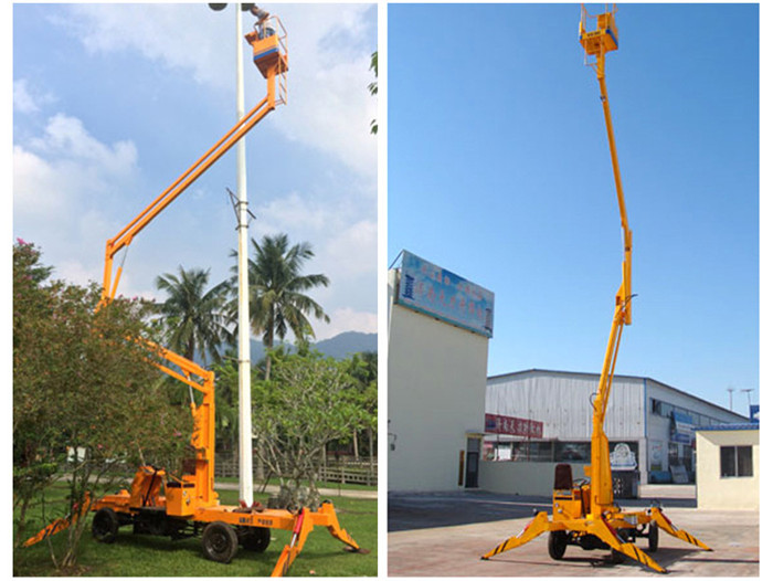 Articulated Trailer Mounted Lift