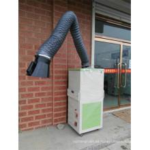 Extractor de humos de soldadura móvil para soldadura de metal y campo de fabricación