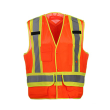 High Quality Reflective Safety Vests with 100% Polyester Mesh Fabric