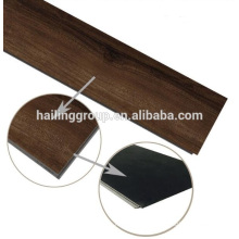 Luxury click vinyl flooring with wood texture and high quality