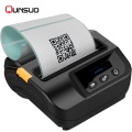 Label Bluetooth barcode termal mini printer 3 inci