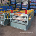 Galvanized Colored Glaze Tile and Ibr Double Deck Roofing Machine (XH1050-1080)