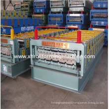 Double Deck Color Steel Roof Tile Forming Machine