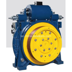 AC220V / 60Hz Passagerarhiss PM Gearless Traction Machine