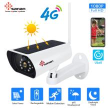 1080P g / m² 4G solarbetriebene Überwachungskamera