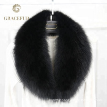 Exquisite detachable fur collar accessorize