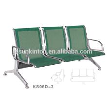 Commerical furniture for armrest chairs for commerical use, For office/ Hospital, Aluminum armrest and leg finishing (KS06D-3)
