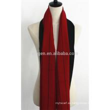 Bufanda 100% lana de doble cara