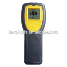 Stud center finder with AC live wire warning