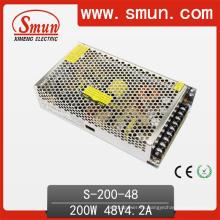Fuente de alimentación de la transferencia de 200W 48VDC 4.2A AC-DC
