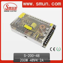 Fonte de alimentação comutada AC-DC 200W 48VDC 4.2A