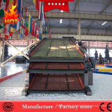 Machine de criblage de sable rotative professionnelle pour l'industrie minière