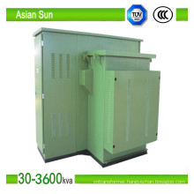 Zgs Series Box/American Type Outdoor Transformer Substation