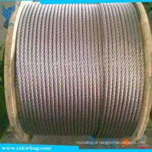 0,3 milímetros fio de aço inoxidável, galvanizado proteção ambiental fio de aço inoxidável