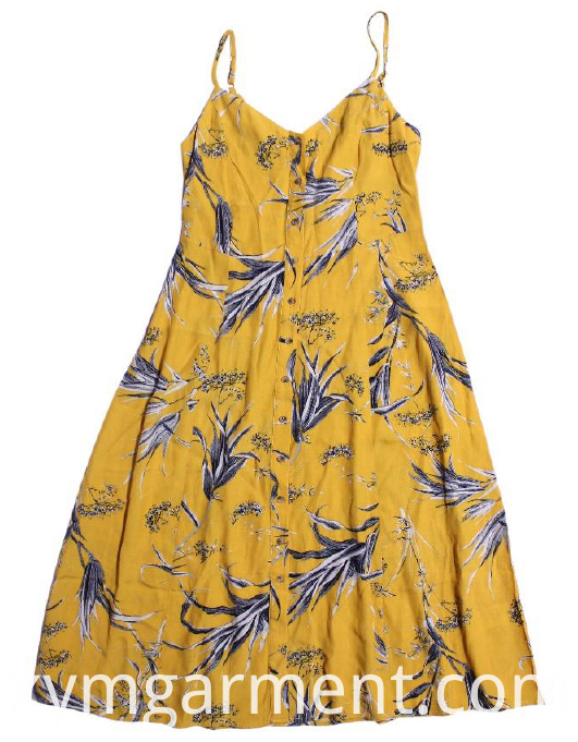 ladies viscose slip dress 1