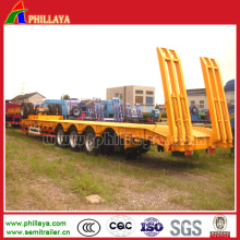 Utility Lowbed Trailer with Container Twist Lock
