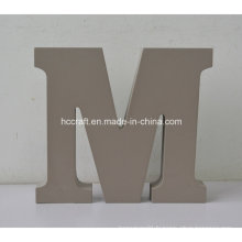 Lettres en bois en MDF utilisées pour la décoration intérieure