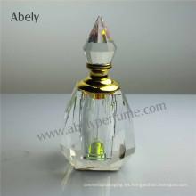 30ml botella de cristal transparente de aceite de lujo conjunto