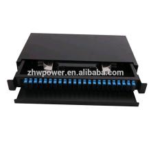 24 port fiber optic patch panel pull-push type Rack-mounted patch panel