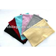 femmes cachemire tricoté foulards simples silencieux écharpes pashmina