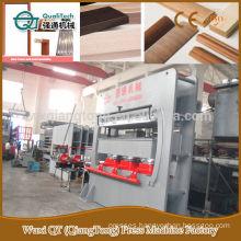 melamine mdf moulding hot press machine