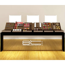 Cosmetic Shop Furniture Display Modern Counter with Acrylic Light Box
