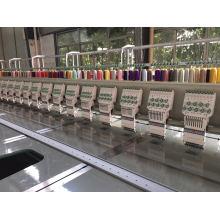 28 Cabeza 9 Colores Máquina de bordar plana