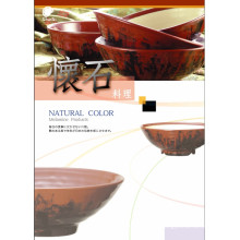 "Melamin ""Natural Color"" Serie Geschirr / Essbesteck / 100% Melamin Geschirr"