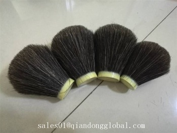 Black Horse Hair Knot