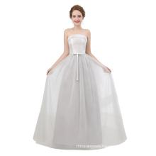 Silver Sexy Off Shoulder Floor Length 2018 Long evening dresses