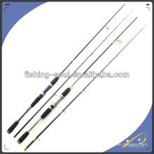 Vara de pesca de giro bravo SPR015, 2 seção Rod de carbono, equipamentos de pesca ao ar livre