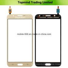 Pantalla táctil del teléfono móvil para Samsung Galaxy J7 J700 Panel táctil digitalizador