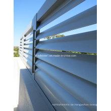 Außenseite Nicht korrosive Aluminium-Sonnenschutz