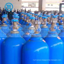 oxygen/argon/nitrogen gas cylinder refillable bottled 6M3 storage