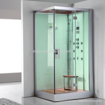 Cabine de douche de salle de vapeur en verre de contrôle d'ordinateur (DZ960)