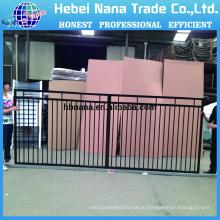 Используются ограждения для продажи / образцы ворота, Железный забор / дешевые кованого железа забор панели для продажи