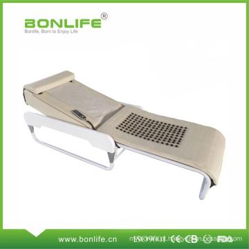Massagem de corpo inteiro de turmalina Jade pedra massagem cama com raio infravermelho distante