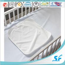 Бамбуковая махровая ткань Матрац протектор Детская кроватка Водонепроницаемый протектор
