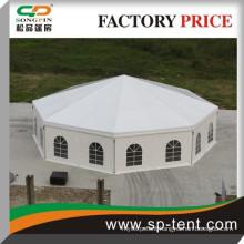 Promotional Outdoor Aluminum decagonal circus party tents Diameter 15m