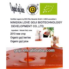 2013 NUEVO-- Jugo orgánico de goji