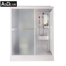 Aokeliya Complete bathroom cubicle All In One Bathroom Unit Cubicle Toilet Shower Cubicle