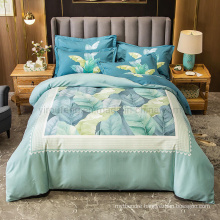 New Product Cheap Price Bedding Set Cotton Brushed Fabric Soft for Single 3PCS Bed Sheet