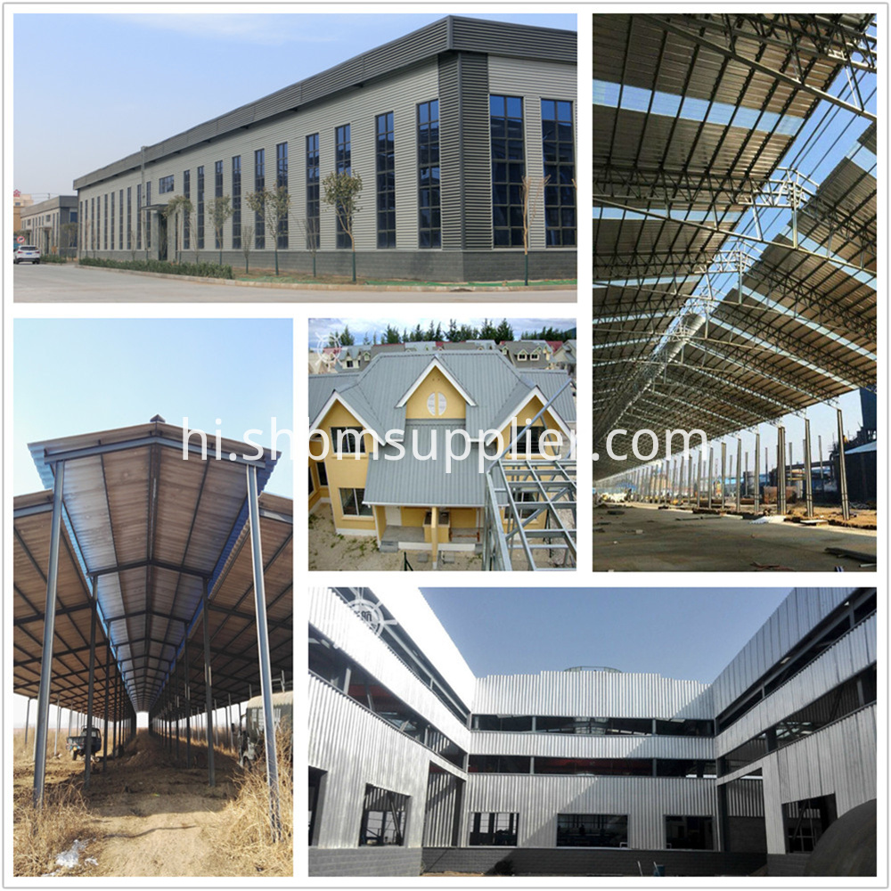 High Strength Fire-resistant Aluminum Foil MgO Roof Panels