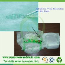 Hydrophilic Nonwoven Fabric for Bady Diaper