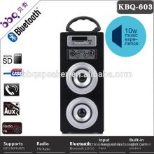High quality 10W loud doss car bluetooth speaker