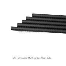 neuankömmling 25x23x130mm cutted carbon fiber rohr japanischen tubes8 stück / pack