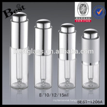 clear glass 12ml dropper bottles, press cap aluminum 12ml dropper bottles