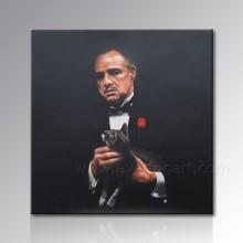 Handgemalte Porträt-Ölgemälde auf Leinwand