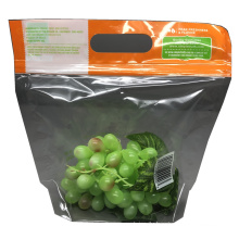 Fresh Keeping Fruit and Vegetable Packaging Bag Zipper Plastic Wholesale Cheap Customized Clear Opp Bag Food Customized Logo
